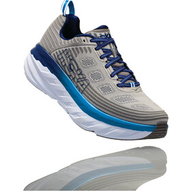 Hoka One One Bondi 6 Running Shoes Herre vapor blue/frost gray